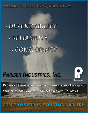 Pariser Industries, Dependability, Reliability, Consistency