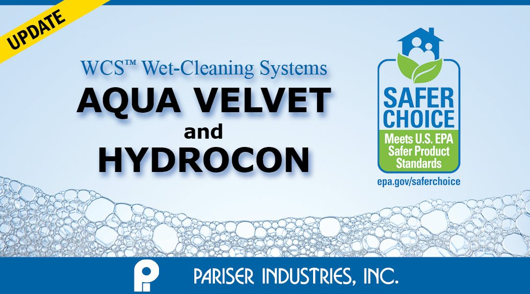 Environment-Friendly Wet-Cleaning Products Now Available